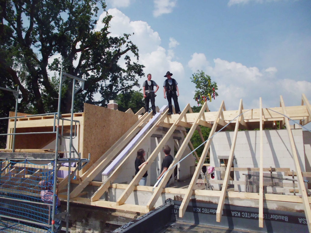 Umbau 1-Familien-Wohnhaus in Münster-Aaseestadt