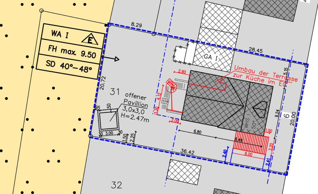Modernisierung in Albersloh Lageplan