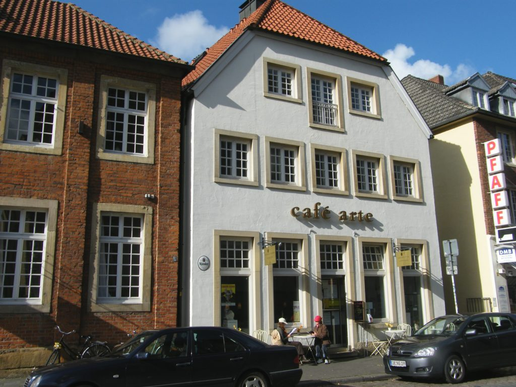 Café Arte nachher