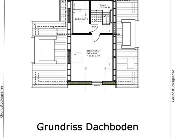 Doppelhaushälfte Kinderhaus Grundriss DB