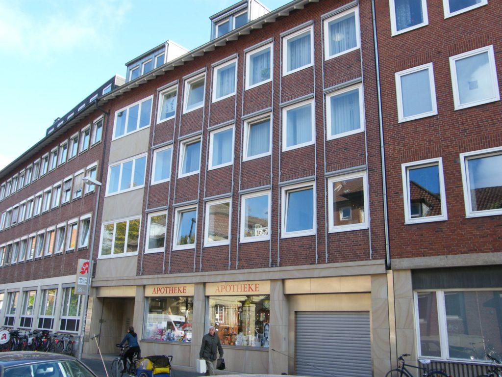 Geschäftshaus in der Königsstraße MS