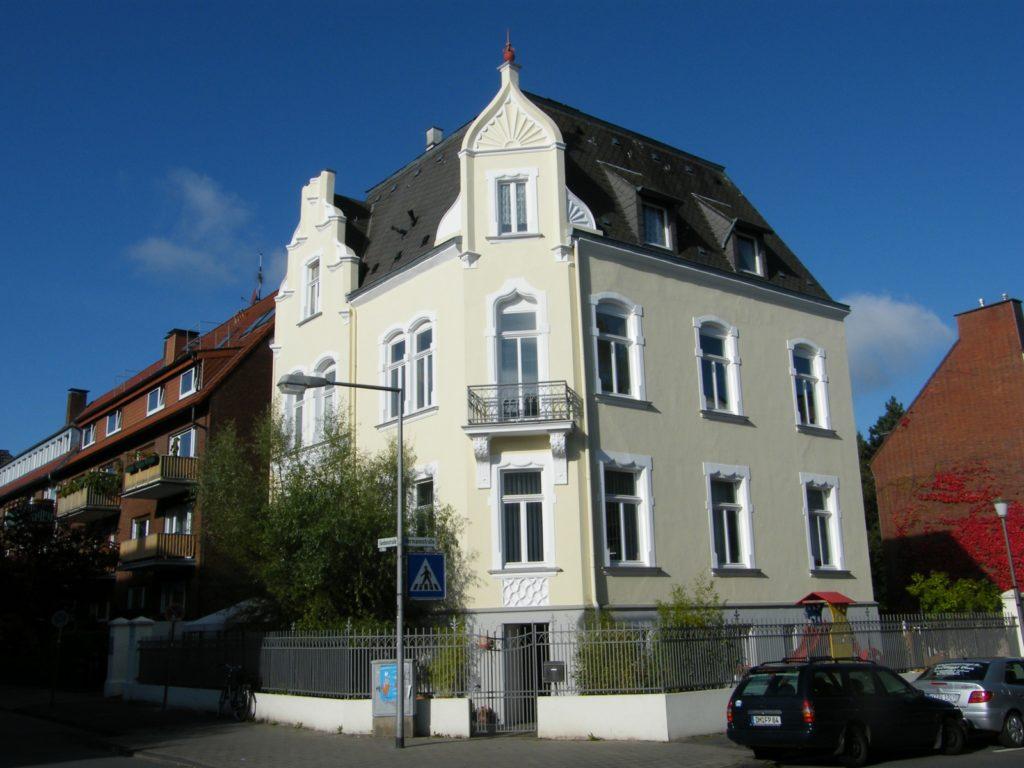 Denkmalgeschütztes Gebäude in Münster