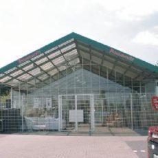 Neubau einer Verkaufshalle