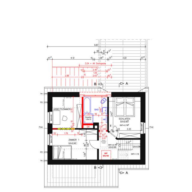 Umbau und Modernisierung eines Wohnhauses in Drensteinfurt DG