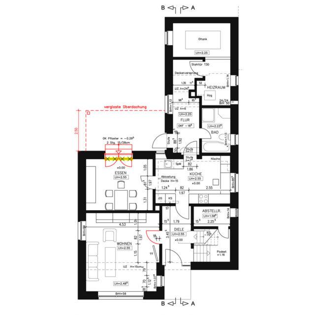 Umbau und Modernisierung eines Wohnhauses in Drensteinfurt EG